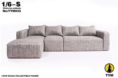 Technic Toys TYM035 1/6 European Fabric Cotton Sofa