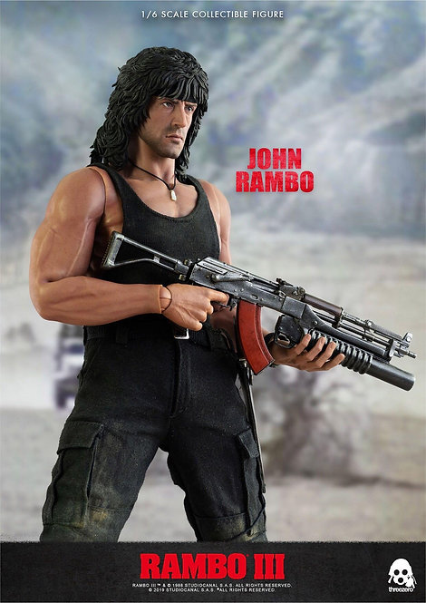 ThreeZero Rambo III John Rambo 1/6 Figure