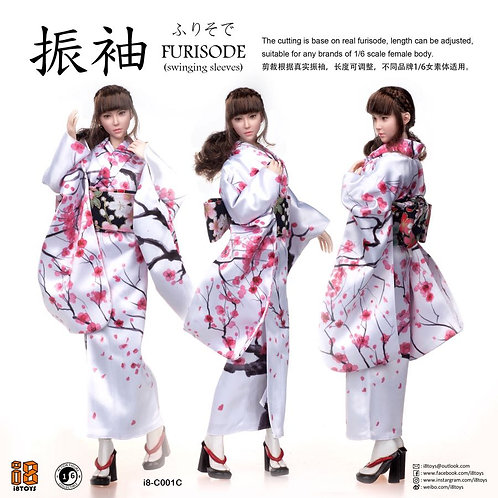 i8 Toys 1/6 Furisode Clothing Set (with headsculpt)