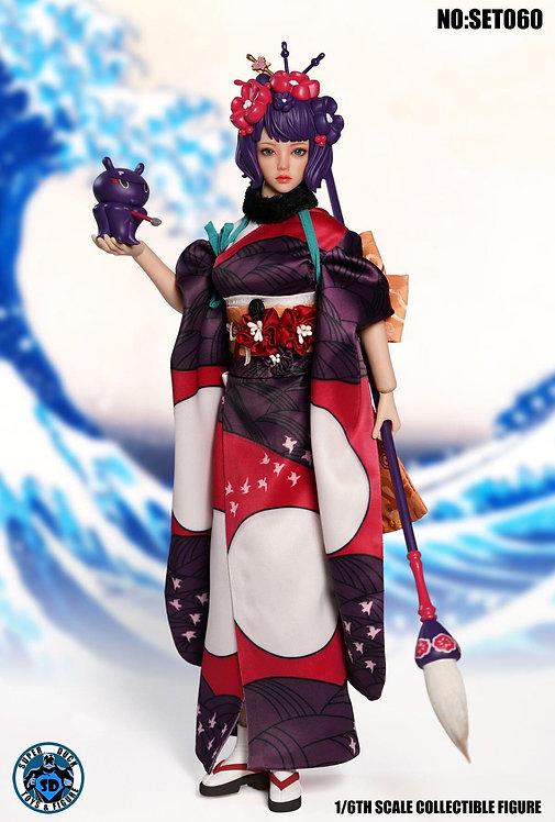 SUPER DUCK SET060 Katsushika Hokusai 1/6 Costume Set