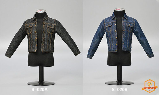 SGTOYS S-020 Men's Denim Suit 1/6 Costume Set
