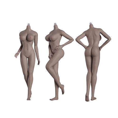 Jiaou JOQ-09F-BS01 (New Wheat Skin) European Shape 1/6 Female Seamless Body