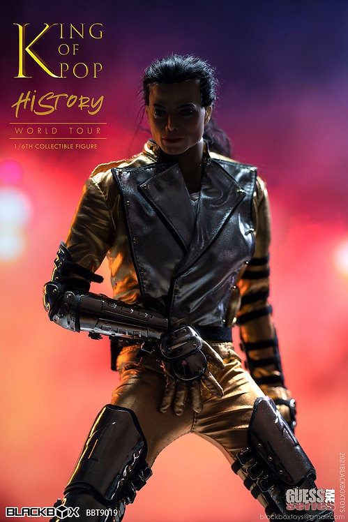 BLACKBOX BBT9019 Guess Me Series King Of Pop History World Tour 1/6 Figure
