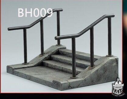 Bullet Head BH009 Stairs 1/12 Diorama