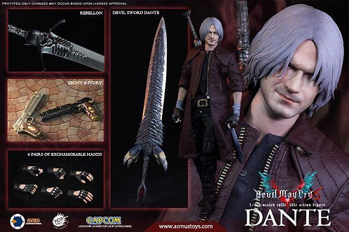 Asmus Toys DMC502 The Devil May Cry Series: Dante (DMC V)