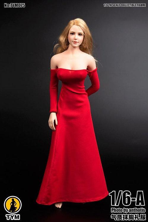 TYM075 - Tube Top Evening Dress