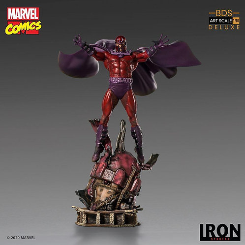 Iron Studios Magneto Deluxe BDS Art Scale 1/10 - Marvel Comics