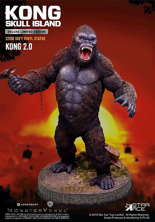 Star Ace Toys SA9005 Kong 2.0 Soft Vinyl Statue DX (Deluxe)