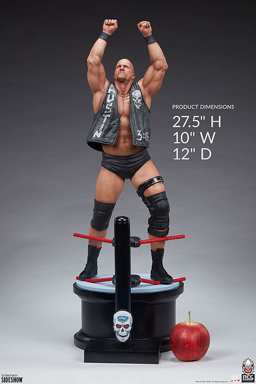 """Sideshow """"Stone Cold"""" Steve Austin Statue by PCS Collectibles"""