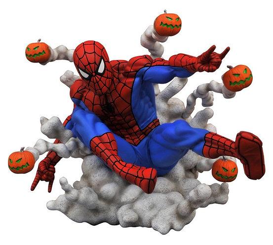 Diamond Select Marvel Gallery Pumpkin Bomb Spider-Man Statue