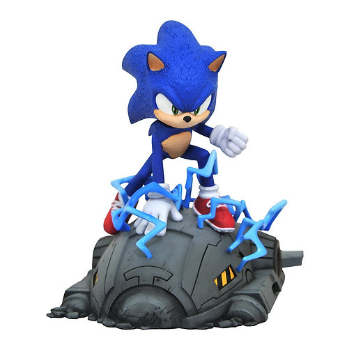Diamond Select Sonic the Hedgehog Movie Sonic 1:6 Scale Statue