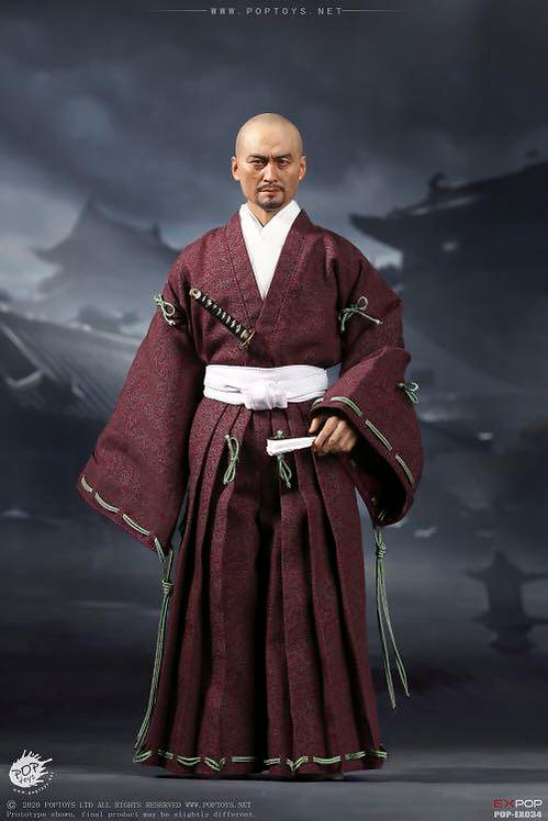 POPTOYS EX034 Benevolent Samurai Robes Version 1/6 Figure