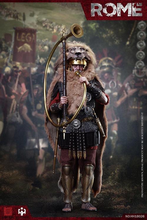 HHMODEL x HAOYUTOYS HH18026 Imperial Legion - Trumpeter 1/6 Figure