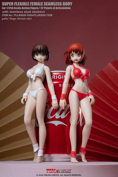 TBLeague PLLB2020-T02A / T02B 1/12 Scale Super-Flexible Female Seamless Body