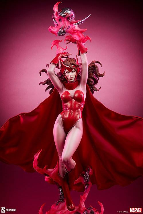 Sideshow Scarlet Witch Premium Format Figure