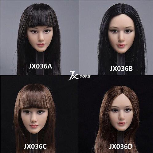 JXTOYS JX-036 Mayfair Asian 1/6 Headsculpt