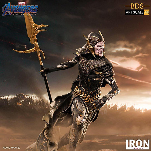 Iron Studios 1/10 art scale Black Order Corvus Glaive statue