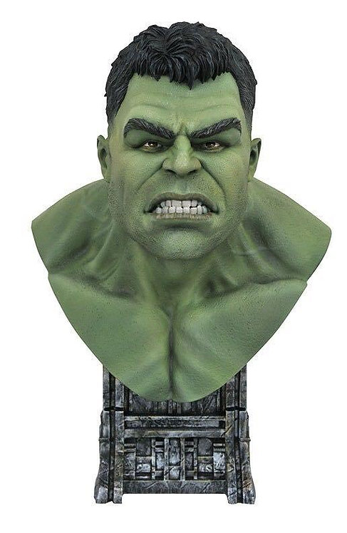 Diamond Select Legends in 3D Thor Ragnarok Hulk 1:2 Scale Bust