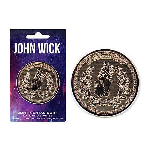 Lineage Studios - John Wick Continental Coin Luxury Enamel Pin