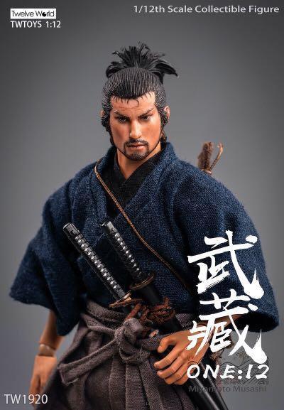 TWTOYS TW1920 Miyamoto Musashi 1/12 Figure