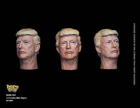 Herotoy HT-002 The President Headsculpt (2 Heads)