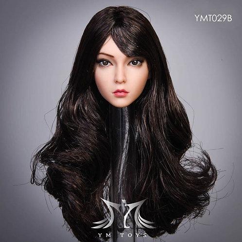 YMTOYS YMT029B - 1/6 The Roses Black Qufa Hair Headsculpt