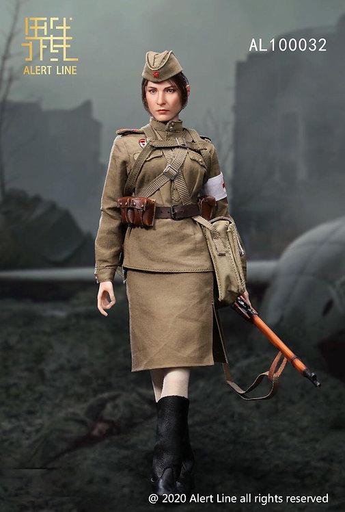 Alert Line AL100032 WWII Soviet Medical Soldier 1/6 Figure