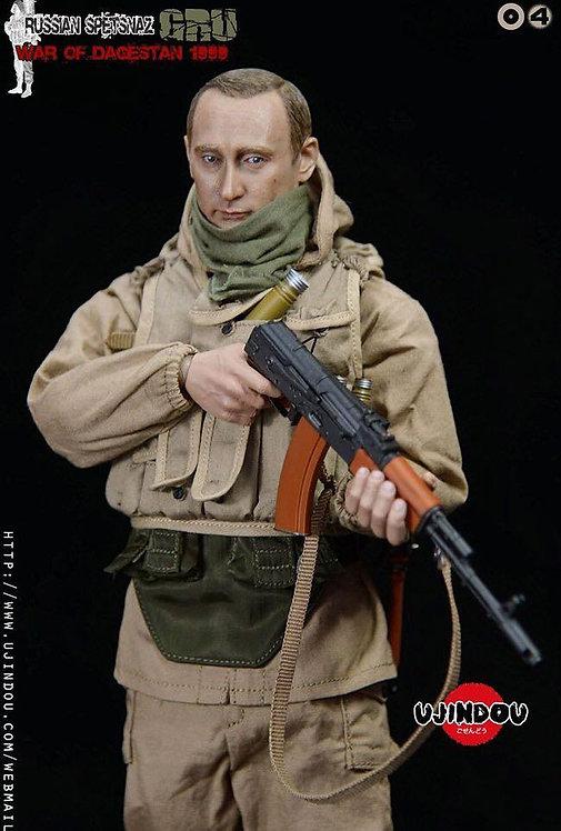 UJINDOU UD9004 Russian Spetsnaz GRU War of Dagestan 1999 1/6 Figure