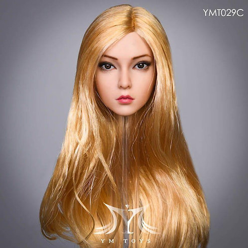 YMTOYS YMT029C - 1/6 The Roses Golden Long Hair Headsculpt