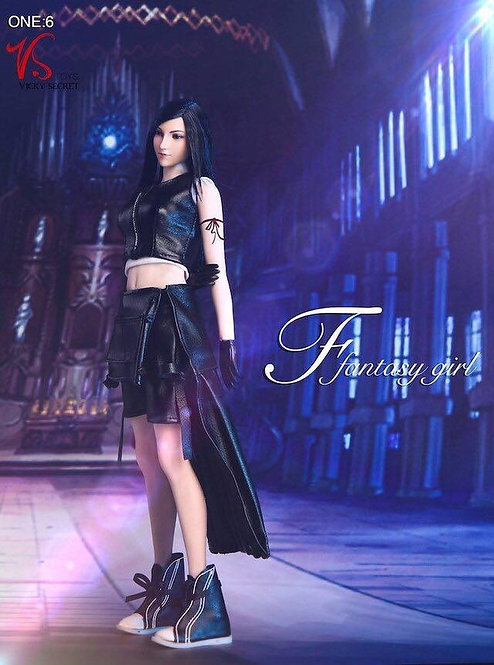 VSTOYS 1/6 Fantasy Girl Tifa 2.0 Figure