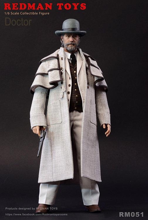 REDMAN TOYS RM051 Django Doctor 1/6 Figure
