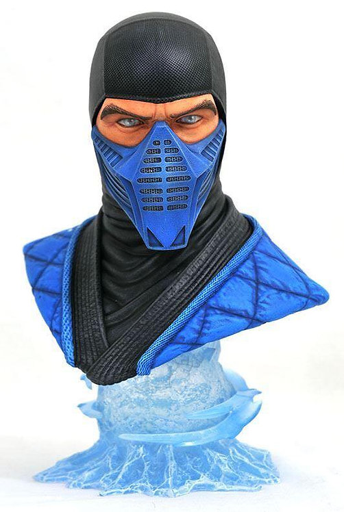 Diamond Select Legends in 3D Mortal Kombat Sub-Zero 1:2 Scale Bust