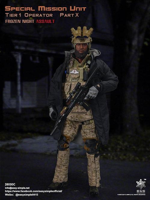 Easy&Simple 26030C Special Mission Unit Part X Frozen Night Assault
