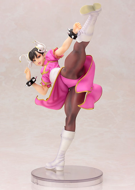 Kotobukiya Street Fighter Bishoujo Statue - Pink Chun Li (Limited Edition)