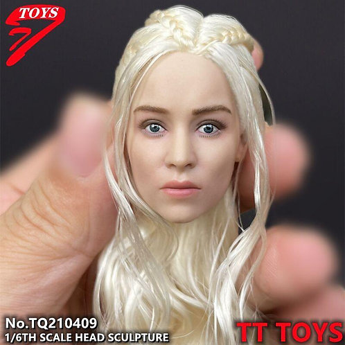 TTTOYS TQ210409 Dragon Mother Rooted Hair 1/6 Headsculpt