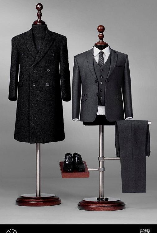 POPTOYS X34 Rich Gentleman Ben 1/6 Overcoat Suit