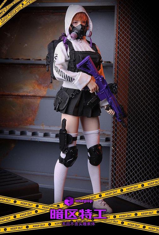 ONEPOP DV-03 Dark Zone Special Agent 1/6 Female Suit