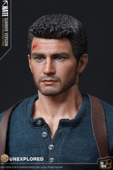 CCTOYS CCT01 - UNEXPLORED NATE 1/6 Figure