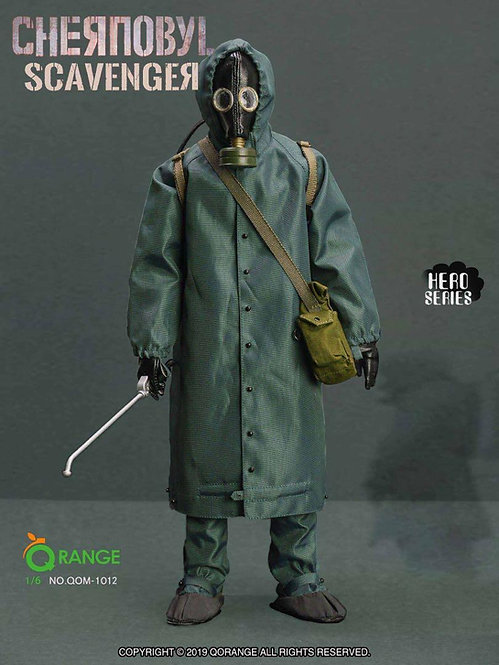 QORANGE QOTOYS QOM-1012 The Chernobyl Scavenger 1/6 Costume Set