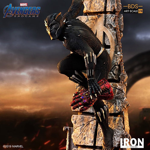 Iron Studios 1/10 Art Scale Endgame Black Panther Statue