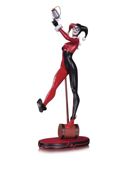 DC Collectibles - DC Comics Cover Girls Harley Quinn 2nd Edition Statue