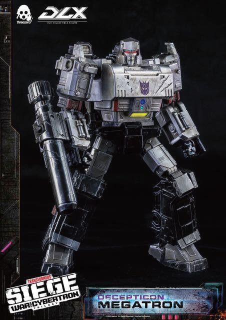 ThreeZero Transformers: War For Cybertron DLX Megatron