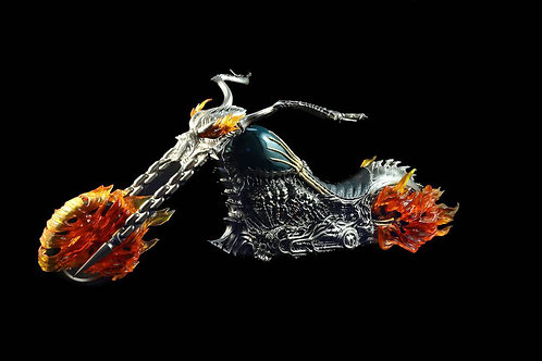 VF02A / VF02B 1/6 Scale Ghost Rider Motorcycle (Lighting Ver)