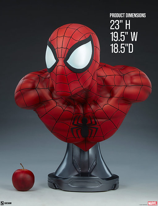 Sideshow Spider-Man Life-Size Bust