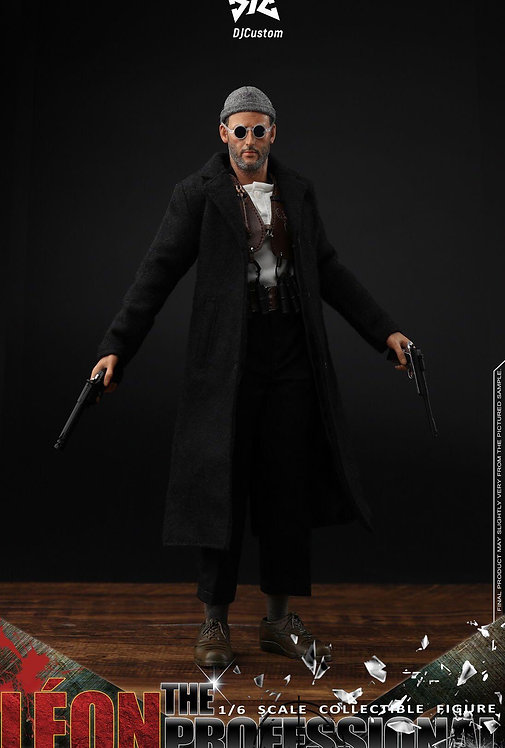 DJ-CUSTOM DJ-16001 The Professional Leon 1/6 Figure