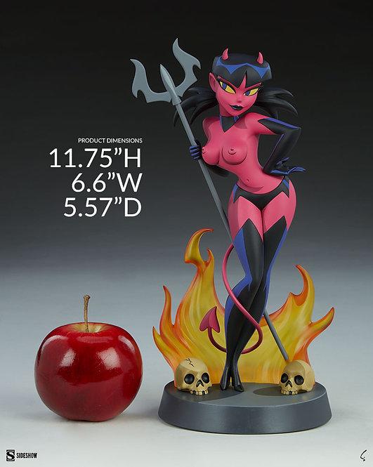 Sideshow Devil Girl Statue by Shane Glines