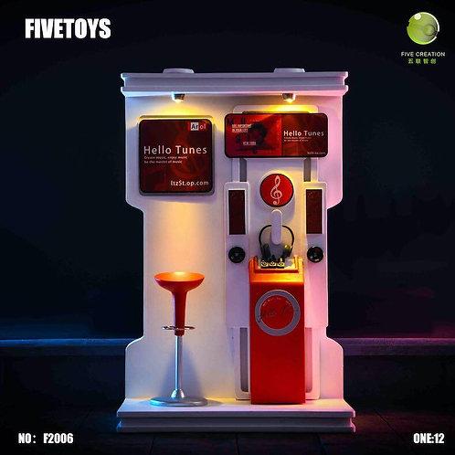 FIVETOYS F2006 Jukebox Scene 1/12 Diorama