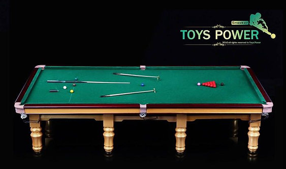 Toys Power 1/6 ANNEX001 Snooker Table and Accessories