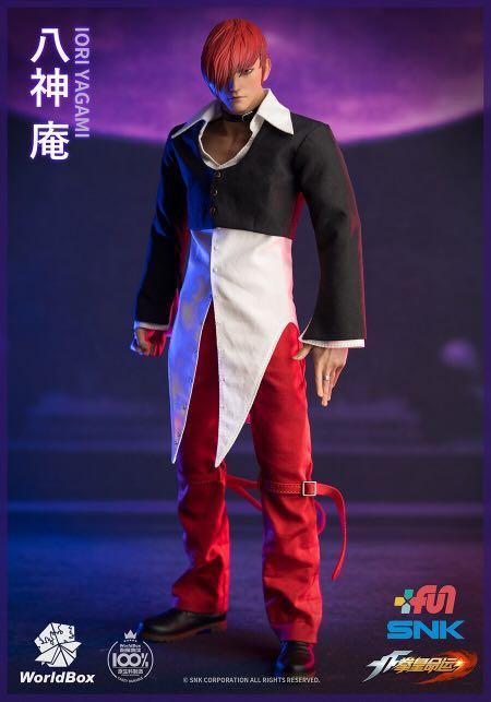 WorldBox KF099 The King Of Fighters Iori Yagami 1/6 Figure (Standard)