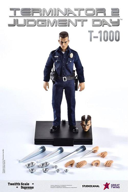Great Twins Terminator 2: Judgement Day T-1000 1/12 Figure (Normal Version)